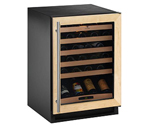 U-Line 2175WCCOL-00 48 Bottle Wine Cellar w/Full Overlay Frame
