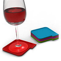 Houdini Coasters - Set of 6 Assorted Colors