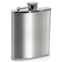 Metrokane 2606 Houdini Pocket Flask - Stainless Steel