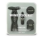 Metrokane 2727 4-Piece Rabbit Wine Tool Kit