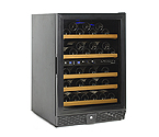 N'Finity 50 Bottle Wine Cellar Refrigerator - Black Cabinet with Black Door