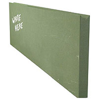 Chalkboard Menu Wall Board Plank - Green