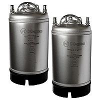 Coffee Kegs - Ball Lock 3 Gallon Strap Handle - Brand New - Set of 2