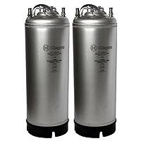 Coffee Kegs - Ball Lock 5 Gallon Strap Handle - Brand New - Set of 2