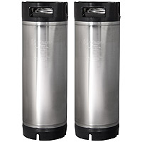 5 Gallon Ball Lock Keg - RubberHandle - Set of 2