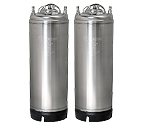 Kegco 5 Gallon Ball Lock Keg - Strap Handle - Set of 2