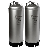 Kombucha Kegs - Ball Lock 5 Gallon Strap Handle - Brand New - Set of 2