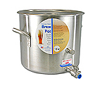 Polar Ware 32 Qt. Stainless Steel Brew Pot