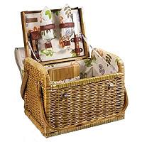 Kabrio Botanica Willow Picnic Basket for 2