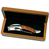 Michelangelo Rosewood Handle Waiter's Corkscrew