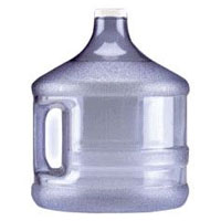 Screw-Top Water Bottle - 2 Gallon