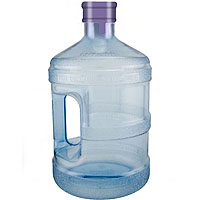 Crown-Top Water Bottle - 2.3 Liter w/ Handle PC