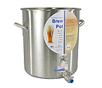 Polar Ware 42 Qt. Stainless Steel Brew Pot