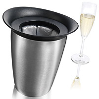 Active Elegant Champagne Cooler - Stainless Steel