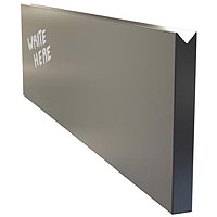 Dry Erase Menu Wall Board Plank - Black