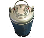 Brand New - 3 Gallon Ball Lock Strap Keg