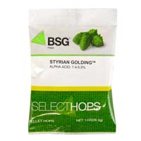 Styrian Golding Hop Pellets - 1 oz Bag
