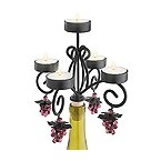 Bordeaux Wine Bottle Candelabra