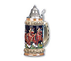 Bavarian Beerwagon Beer Stein