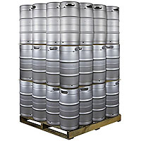 Pallet of 48 Kegs -  7.75 Gallon Commercial Keg with Threaded D System Sankey Valve