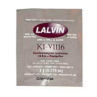 Lalvin K1V-1116 Wine Yeast 5 g