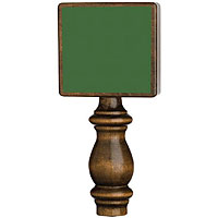 Chalkboard Beer Tap Handle - Vintage Green