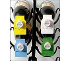 Wine Bottle Paper Tags - 4 Colors