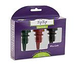 Tiptop® Reusable Wine Cork 3-Pack