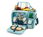 Picnic Time Malibu St. Tropez Insulated Picnic Cooler Tote