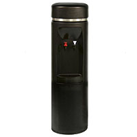 Hot 'N Cold Water Cooler - Black w/SS Reservoir