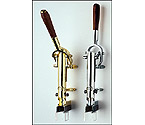 Zeus Wine Opener Uncorking Machine - Nickel Plated