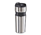 Oggi 5080 Lustre Contour Stainless Steel Travel Mug