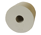 #6 � Rubber Stopper - Drilled