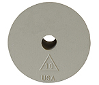 #10 Rubber Stopper - Drilled