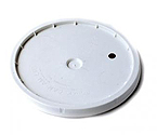 BSG 7.8 Gallon Bucket Lid Only - Drilled & Grommeted