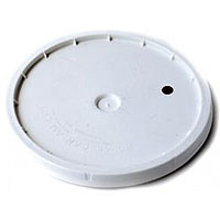 7.8 Gallon Bucket Lid Only - Drilled & Grommeted