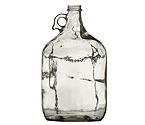 1 Gallon Clear Glass Jug