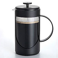 3-Cup Ami-Matin Unbreakable French Press - Black