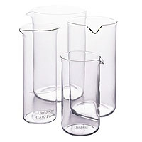 12 Cup French Press Replacement Glass Carafe, Universal Design