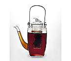BonJour 53751 Simone 27-oz. Glass Teapot with Glass Infuser