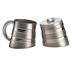 BonJour 53774 Montano Sugar & Creamer Set - Double Wall Stainless Steel