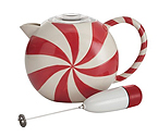 BonJour 53874 32-oz. BonJour Peppermint Swirl Hot Chocolate Pot