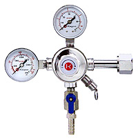 Pro Series Commercial Grade Dual Gauge Co2 Keg Beer Kegerator Regulator