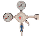 Kegco 542 - Premium Pro Series Commercial Grade Dual Gauge Co2 Keg Beer Kegerator Regulator