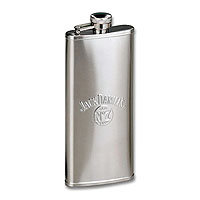 Stainless Steel Satin Boot Flask - 5 oz.