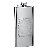 Stainless Steel Boot Flask - 5 oz.