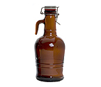 2 Liter Glass Handle Growler