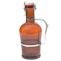 2 Liter Metal Handle Growler