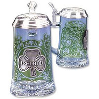 Ireland Glass Beer Stein