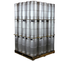 Pallet of 75 Kegco MK-K5G-DDI Kegs - 5 Gallon Commercial Keg with Drop-In D System Sankey Valve